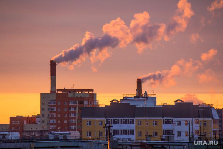 Клипарт октябрь. Нижневартовск., трубы, котельная, тепло, отопление