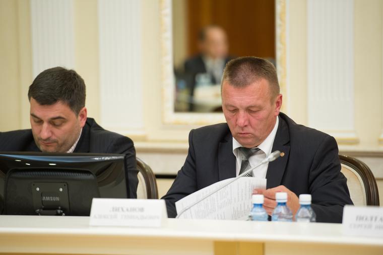 Заседание в резиденции губернатора Свердловской области по итогам единого дня голосования. Екатеринбург, лиханов алексей, третьяков антон