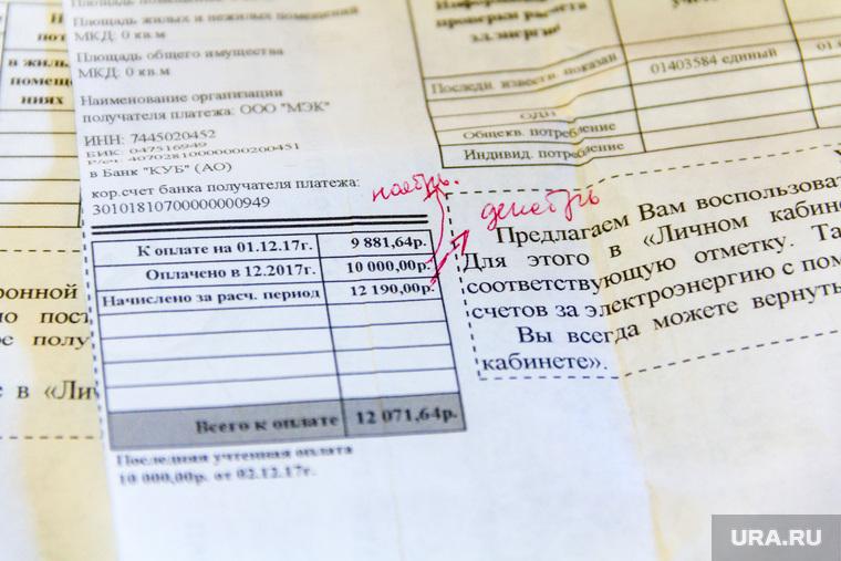 Поселок Новоянгелька. (Агаповский район). Челябинская область, электроэнергия, квитанция, счет