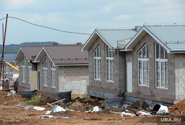 Строительство коттеджных поселков. Челябинск., коттеджи