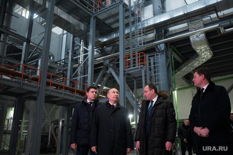 Президент дал старт работе двух ТЭС в Калининградской области