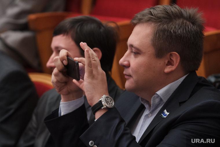 Торжественное вручение мандатов депутатам гордумы. Екатеринбург, жуковский андрей