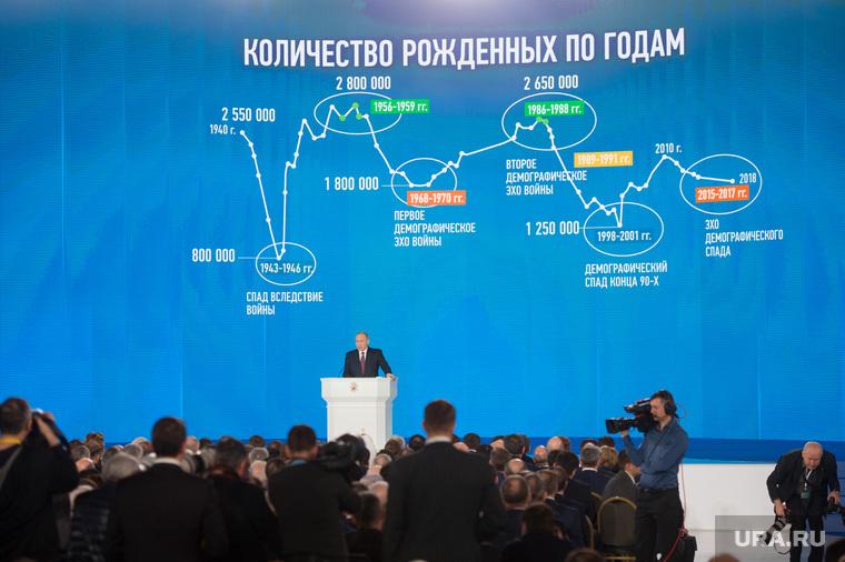 Послание Владимира Путина Федеральному собранию РФ. Москва, путин владимир, демография