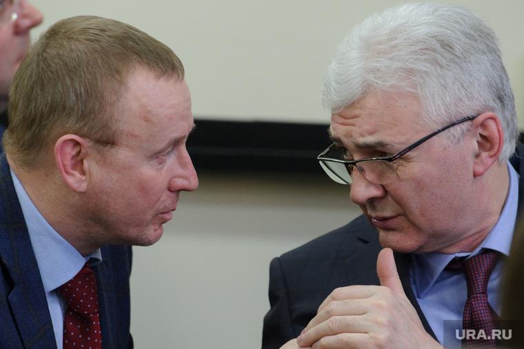 Заседание Общественной палаты Екатеринбурга, якоб александр, тушин сергей