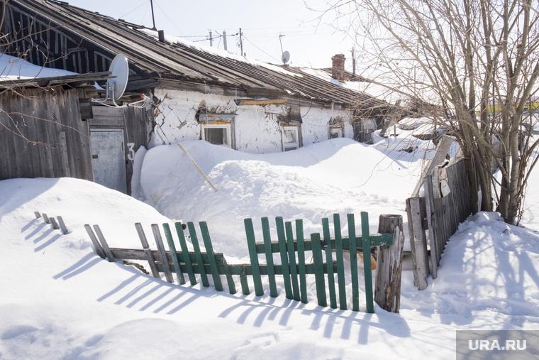 Деревянные дома. Салехард. Ямал, деревянный дом