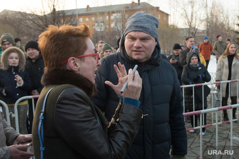 Митинг за сохранение прямых выборов мэра Екатеринбурга, плющев александр, фельгенгауэр татьяна