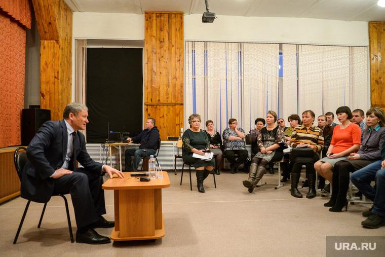 Встреча губернатора Курганской области Алексея Кокорина с учителями Звериноголовской школы, Алексей Кокорин, встреча с губернатором