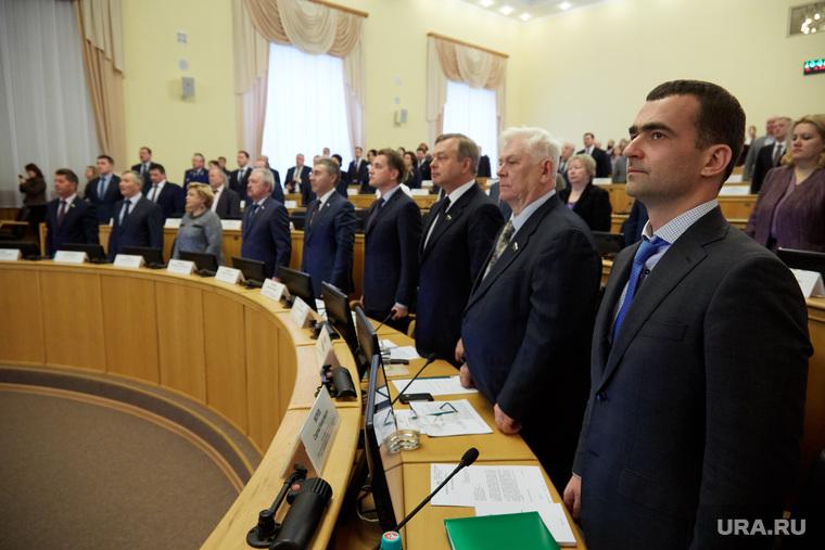 Заседание тюменской областной думы. Тюмень, морев сергей, конев юрий