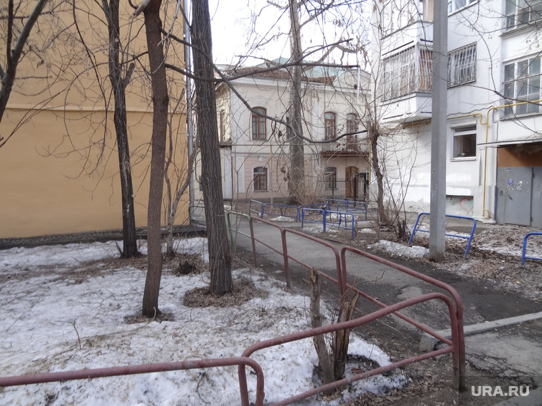 Место нападения на Полянина