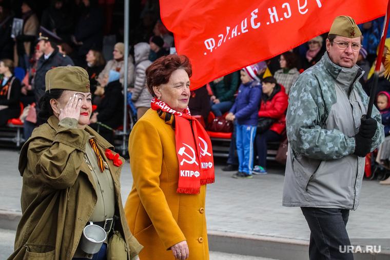 Парад Победы в Великой Отечественной войне. Тюмень, коммунисты, казанцева тамара, парад победы, кпрф