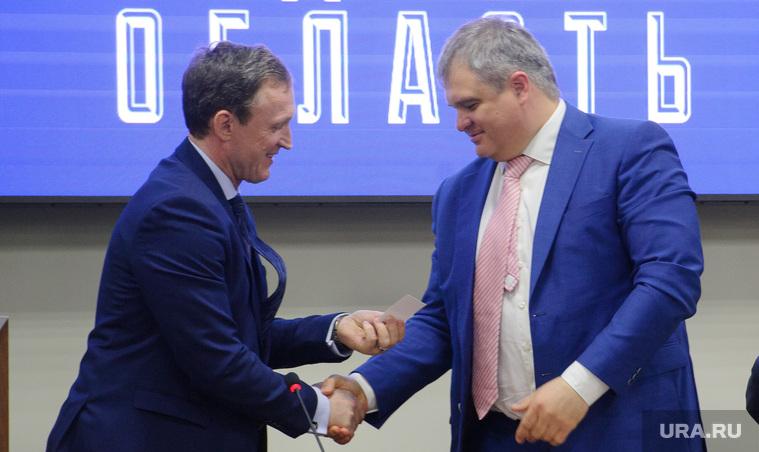 Роман Путин в Екатеринбурге, рукопожатие, область, павленко сергей, путин роман, торгашев олег