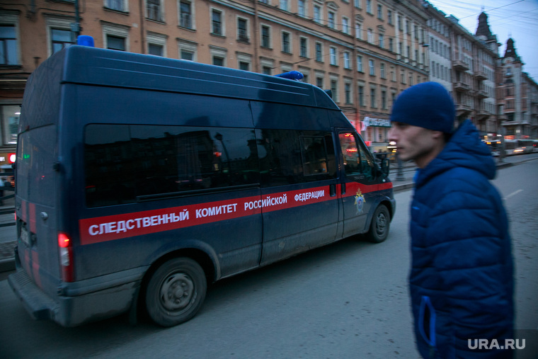 Теракт в Санкт-Петербурге (перезалил). Санкт-Петербург, мигрант, машина следственного комитета, ск