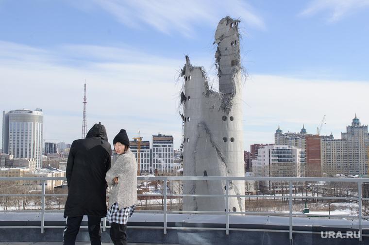 Снос недостроенной телевизионной башни. Екатеринбург, долгострой, развалины, руины, екатеринбург, недостроенная телебашня, снос телебашни