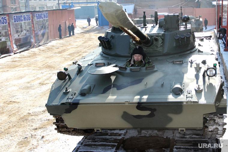 ОАО КурганмашзаводБМД-4 для десантных войск. Курган, военная техника, бмд