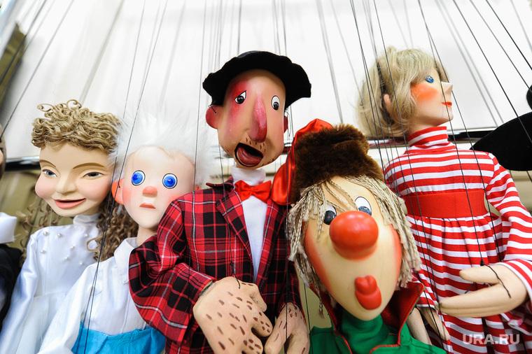 """Театр марионеток """"Малышок"""", репетиция спектакля """"Малыш и Карлсон"""". Челябинск, кукольный театр, куклы, марионетки"""