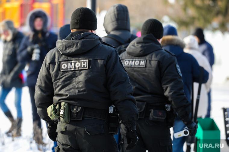 Забастовка избирателей. Митинг сторонников Алексея Навального. Челябинск, омон, полиция