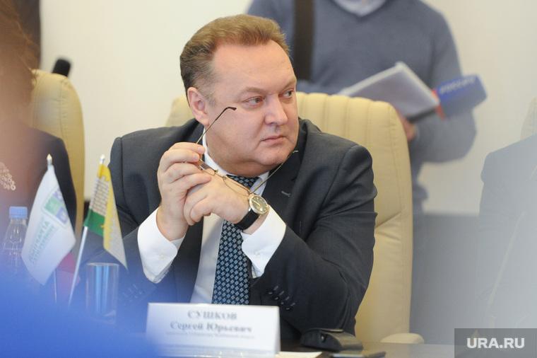 Заседание  рабочей группы Общественной палаты по  вопросу строительства Томинского ГОК. Челябинск, сушков сергей