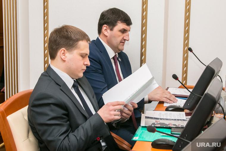 Отчет губернатора Курганской области Алексея Кокорина перед Депутатами Курганской областной Думы. Курган, ярушин юрий, александров юрий