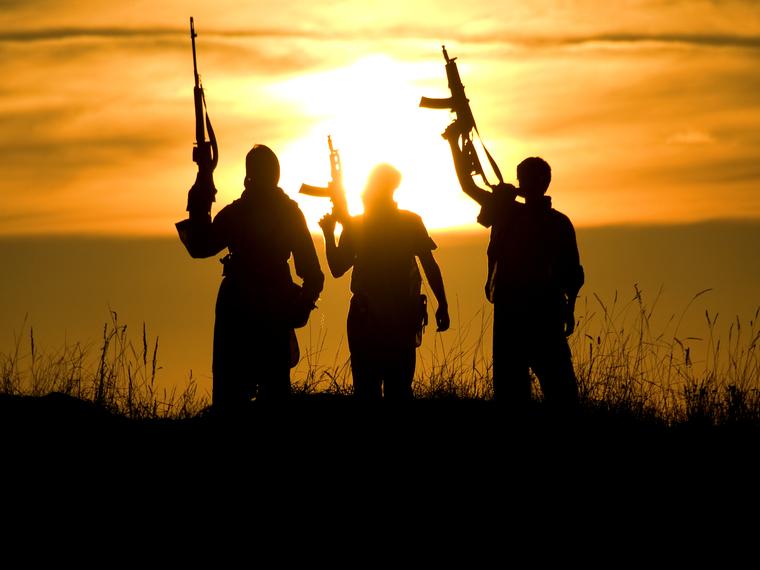 Терроризм, террористы, оружие, автоматы, терроризм, террористы, военные действия
