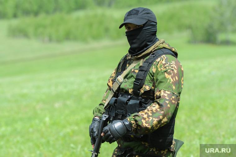 Тактико-специальное учение «Арсенал - 2018» на территории Карабашского городского округа Челябинской области, спецназ, маски-шоу, вежливые люди, армия, военные, солдаты