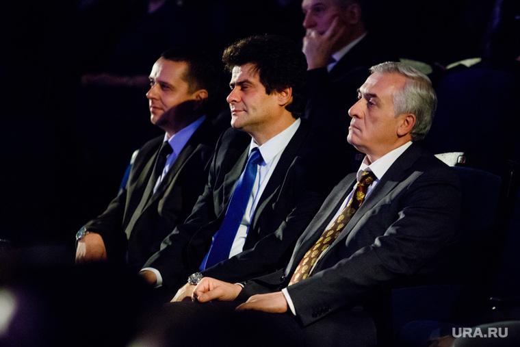 Церемония награждения премией «Человек года 2017» от ДК. Екатеринбург, силин яков, высокинский александр