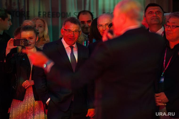 Прием от имени губернатора Свердловской области в рамках международной промышленной выставки Иннопром-2018. Екатеринбург
