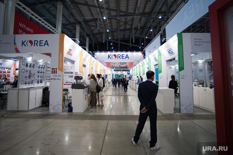 ИННОПРОМ-2018. Первый день международной выставки. Екатеринбург