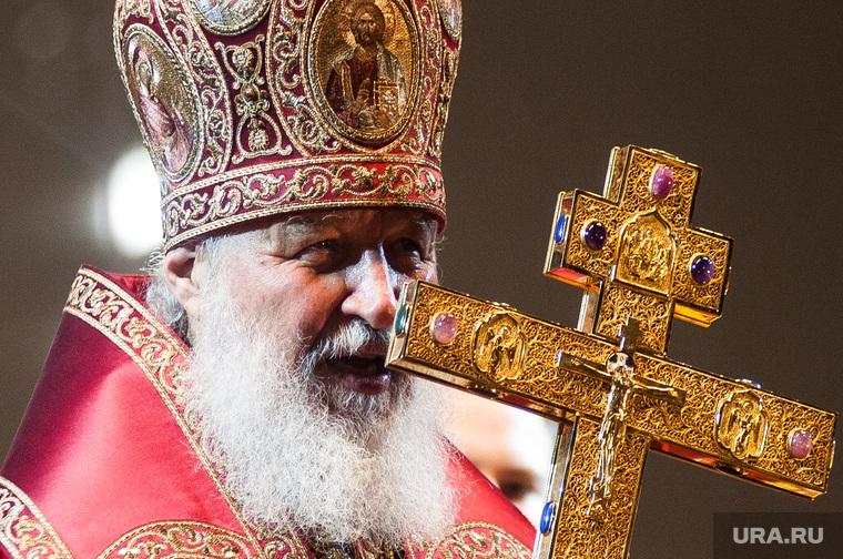 Крестный ход, приуроченный к 100-летию со дня убийства царской семьи. Екатеринбург , крест, патриарх кирилл