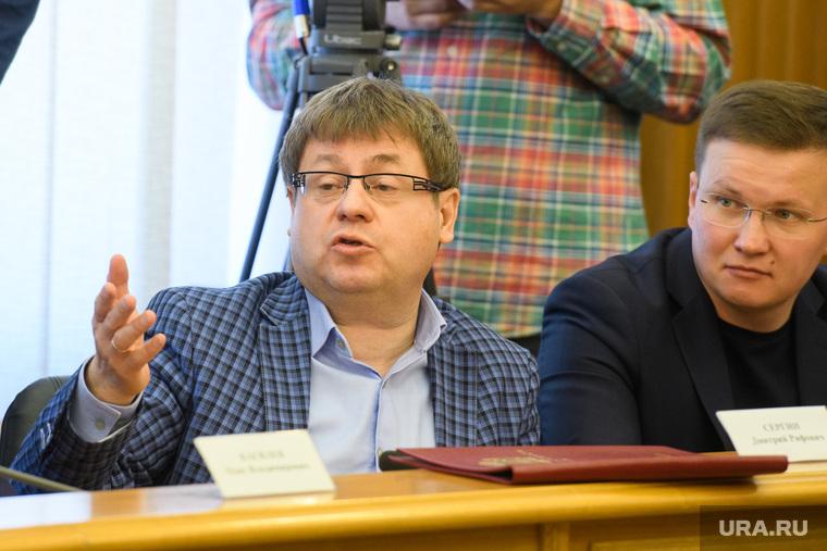 Комиссия по местному самоуправлению и внеочередное заседание гордумы Екатеринбурга, смирнягин николай, сергин дмитрий