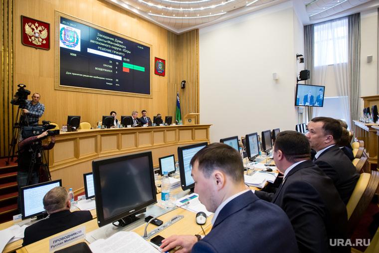 Заседание Думы Ханты-Мансийского автономного округа-Югры. Ханты-Мансийск, дума хмао, бюджет хмао 2018