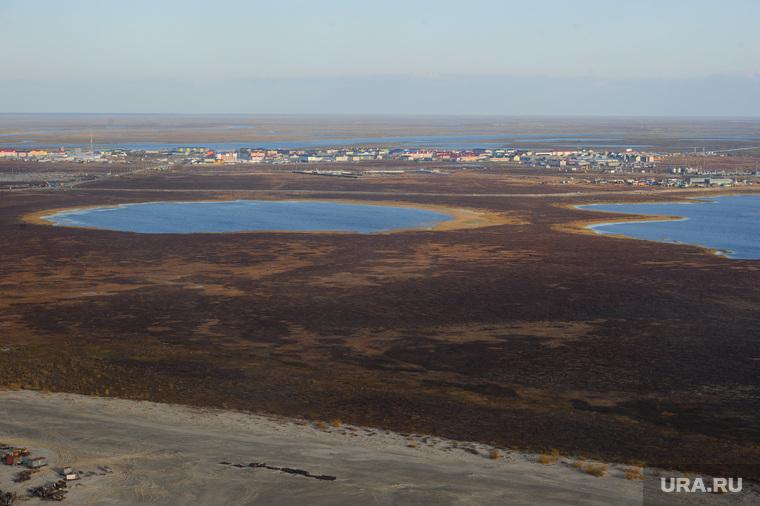 Поселок Тазовский, Новый Уренгой, Ямало-Ненецкий автономный округ, тундра, озеро, поселок тазовский, природа ямала