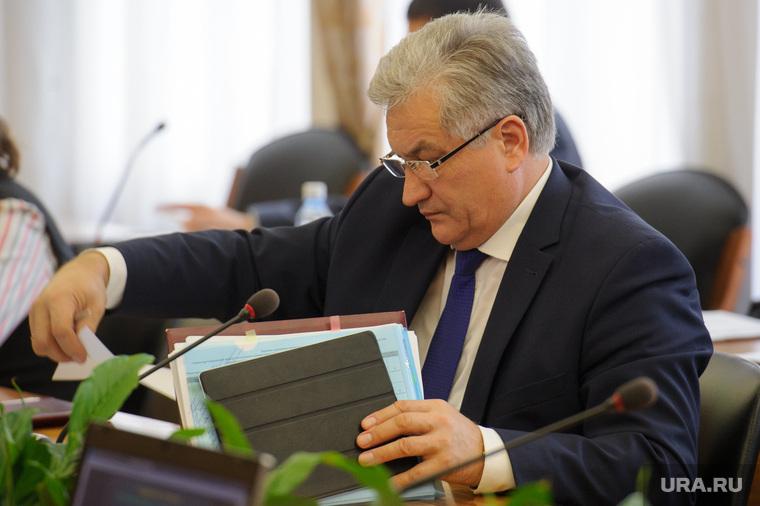Заседание правительства СО под председательством Алексея Орлова. Екатеринбург, биктуганов юрий