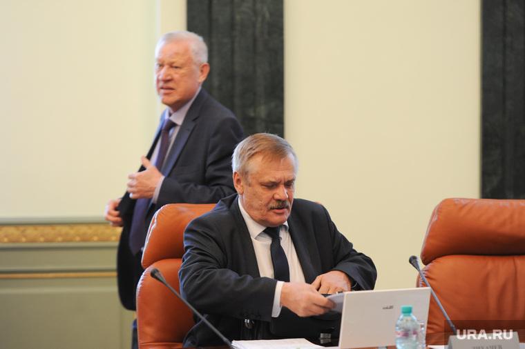 Заседание правительства Челябинской области. Челябинск, тефтелев евгений, лихачев сергей