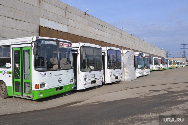 Дубровский на Челябавтотрансе. Автобусы. Челябинск., автобусы на утиль, утилизация автобусов