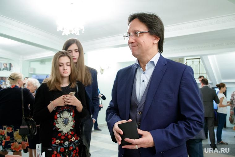 VIP-гости театра оперы и балета перед премьерным показом оперы «Волшебная флейта». Екатеринбург, гагарин анатолий
