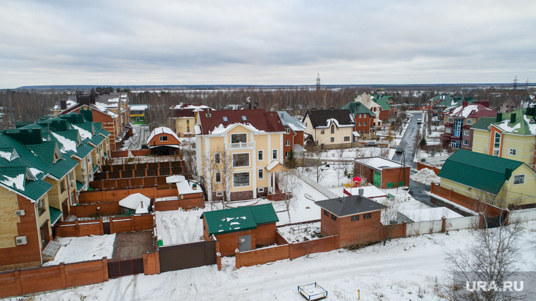 """Коттеджный поселок  """"Березка"""". Сургут, частный сектор, элитное жилье, коттеджи, коттеджный поселок, долина нищих"""