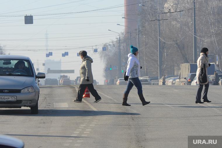 Экология. Выбросы. Дым. Челябинск., пешеходы, воздух, атмосфера