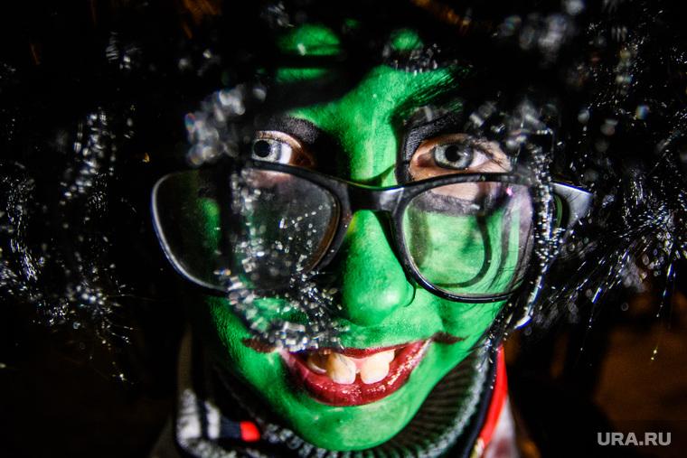"""Заезд """"ВелоГорода"""", посвященный Хэллоуину. Екатеринбург, костюм, халк, хэллоуин, косплей, очкарик, страшилка"""