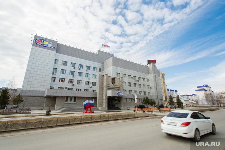Виды города. Нижневартовск, администрация нижневартовска, город нижневартовск