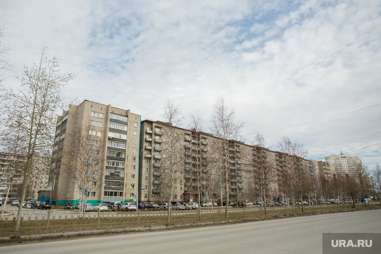 Виды города. Нижневартовск, улица ленина