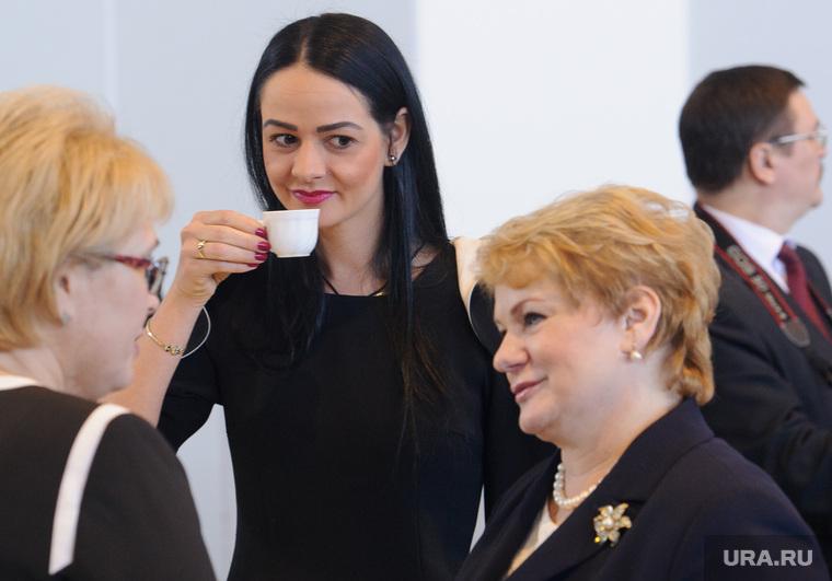 Совещание губернатора Свердловской области Евгения Куйвашева с главами муниципалитетов. Екатеринбург, учайкина светлана, глацких ольга