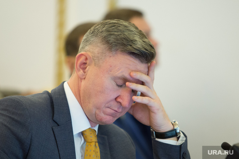 Заседание у врио губернатора Курганской области Вадима Шумкова. г. Курган , усталость, головная боль, фролов дмитрий