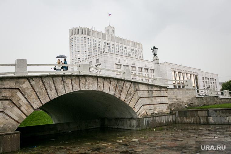25-ая годовщина ГКЧП, Белый дом. Москва, дом правительства рф, горбатый мост