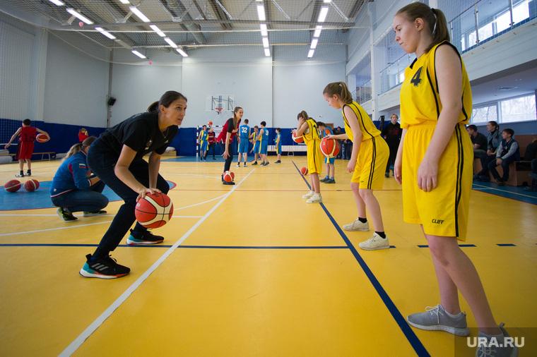 Мастер-класс женской сборной России по баскетболу для детей с интеллектуальными нарушениями. Екатеринбург