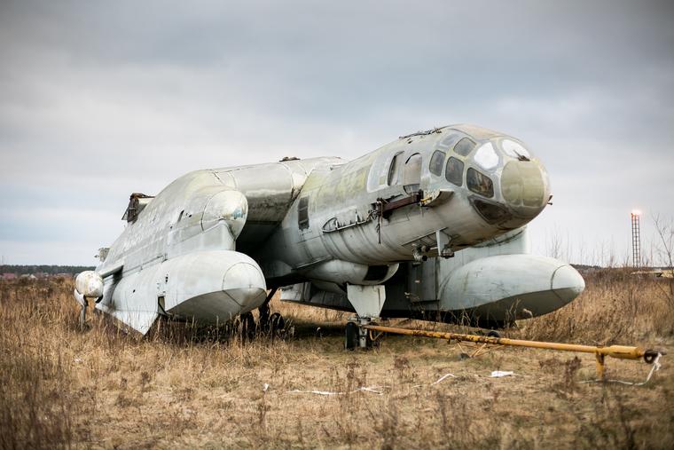 Экспонаты Центрального Музея Военно-Воздушных Сил России в Монино. Московская область, Монино, вертикального взлета амфибия, вва-14