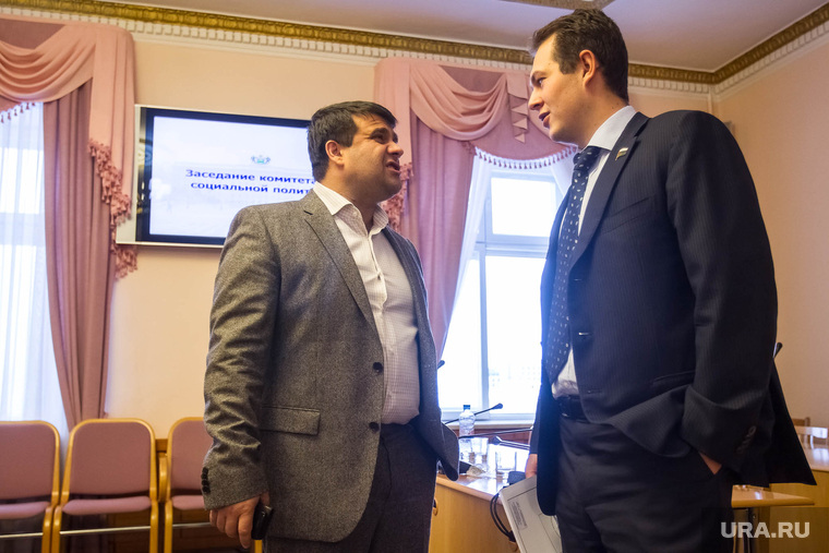 Депутаты Трубин и Пискайкин. Тюмень, трубин глеб, пискайкин владимир
