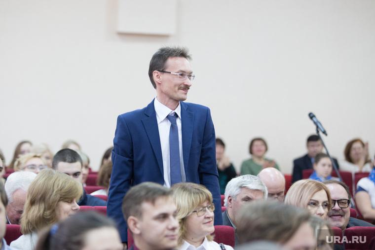 Встреча врио губернатора со студентами и преподавателями КГУ. г. Курган, маслюженко денис
