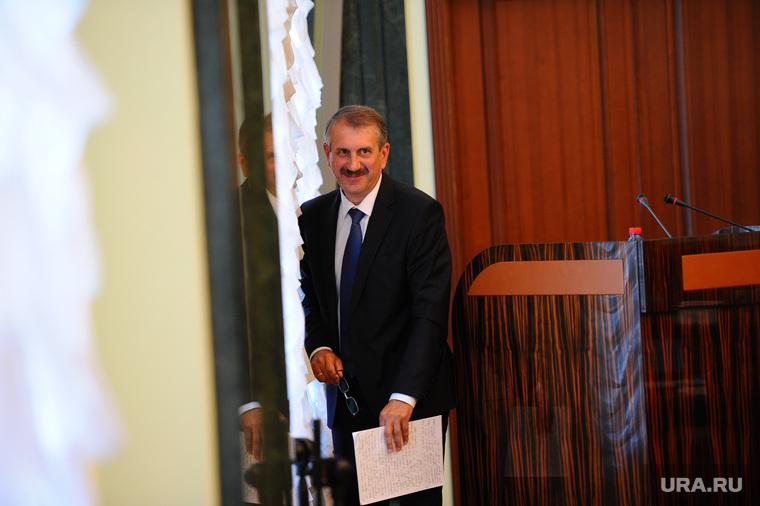 Заседание правительства области. Челябинск, одер леонид