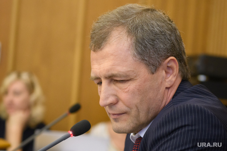Первое заседание гордумы Екатеринбурга седьмого созыва, володин игорь