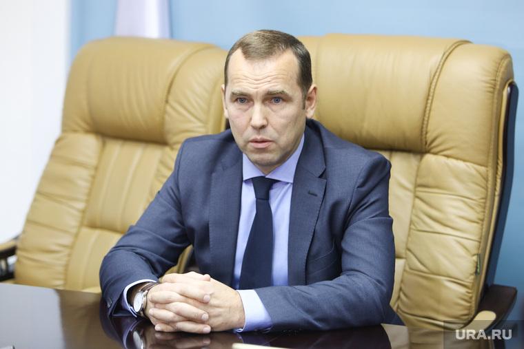 Встреча врио губернатора Курганской области со СМИ, шумков вадим
